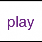 sight word play majestic purple