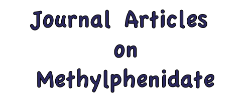 Journal Articles on Methylphenidates